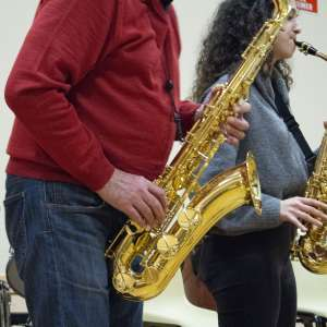 Saxophone de l'école de Musique de Sonzay