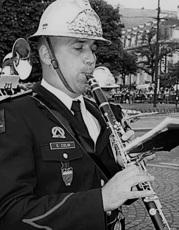 Sylvian COLIN, professeur de Clarinette et de Saxophone